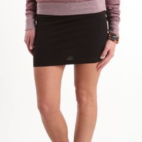 Nollie Womens Cotton Spandex Body Con Skirt