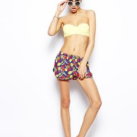 ASOS | ASOS Tutti Fruitti Print Beach Short at ASOS