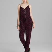 Free People Romper - Printed Sunset