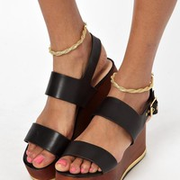 ASOS | ASOS Multipack Twist Chain Anklets at ASOS