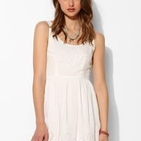 Pins And Needles Scallop-Hem Fit + Flare Dress - Urban Outfitters