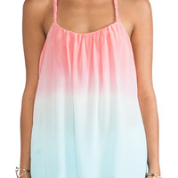 Gypsy 05 Silk Spaghetti Cami in Bubble Gum & St. Barts