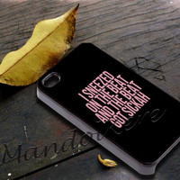 Yonce Lyric Beyonce Cover - iPhone 4 4S iPhone 5 5S 5C and Samsung Galaxy S3 S4 Case