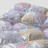 Dancing Flowers Duvet
