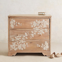 Pearl Inlay Dresser by Anthropologie Neutral One Size Furniture