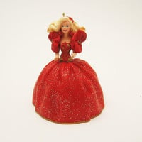 Vintage Hallmark Ornament Holiday Barbie