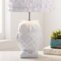 Owl Lamp Base