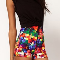 High Waist Knicker Shorts