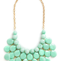 At the Last Mint Necklace | Mod Retro Vintage Necklaces | ModCloth.com