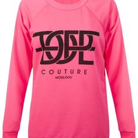 New Womens Ladies Dope Like A Boss Slogan Sweatshirt Pullover Jumper Sweat Top