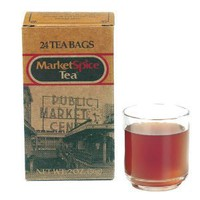 Market Spice Tea Bags - Original Orange Cinnamon - 24 count box
