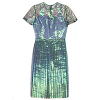 HOT KNIFE DRESS IN OPAL