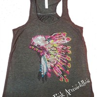 Headdress Flowy Tank
