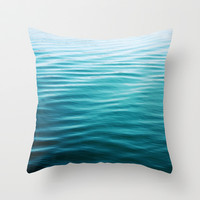 ripples Throw Pillow by Sylvia Cook Photography | Society6