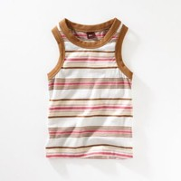Tea Collection Costa Brava Boardwalk Stripe Tank Top