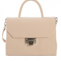 Venla Bag - Nude Nubuck | NOT JUST A LABEL