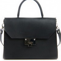 Venla Bag - Black Vegan Tan | NOT JUST A LABEL