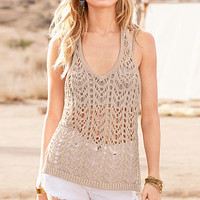 Crochet Racerback Top - Victoria's Secret