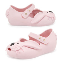 Melissa Shoes Ultragirl Rabbit Jelly Shoe, Pink, Girls' Sizes 5-10