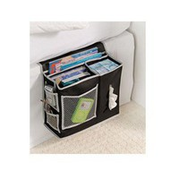 Black Bedside Heavy Weight Storage Caddy