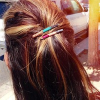 Friendship Wrapped Bobby Pins