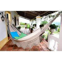 Adobe Stripe Brazilian Cotton Hammock
