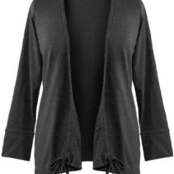 Avenue Plus Size Convertible Cardigan