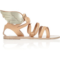 Ancient Greek Sandals | Nephele leather wing sandals | NET-A-PORTER.COM