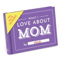 What I Love About Mom Journal - Ships 4/25