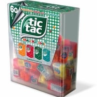 TIC TAC Box with 60 Mini Boxes (Each 3.9 Grams), Artificially Flavoured Mints
