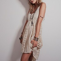Free People Womens Mavi Lace Dress -