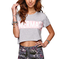 Young Romantics Mermaid Cropped T-Shirt at PacSun.com