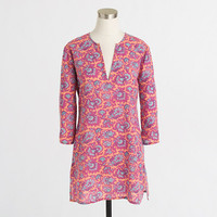 Factory printed crinkle tunic - 80 And Sunny Shop - FactoryWomen's Factory Women_Feature_Assortment - J.Crew Factory