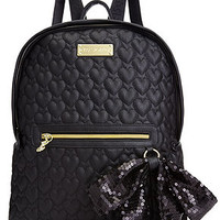 Betsey Johnson Quilted Love Backpack