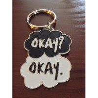 DFTBA Records :: Okay? Okay. Keychain