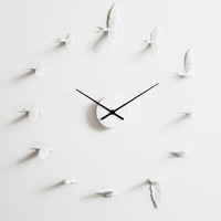 Birds in Motion Wall Clock
