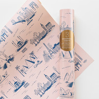 Rifle Paper Co. - City Toile Wrapping Sheets