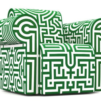 labyrinth chair