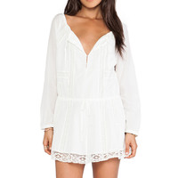 Wish Quell Mini Dress in Cream