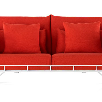 wireframe 2-seat sofa