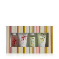 Crabtree & Evelyn Pomegranate & Citron Gel/Lotion Sampler 4 x 50ml