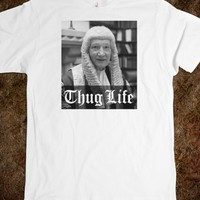Hilarious Thug Life with Lord Denning Comedy T-Shirt