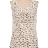 crochet front bar back tank