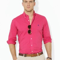 Polo Ralph Lauren Custom-Fit Poplin Sport Shirt