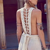 Free People Trailing Jade Dress