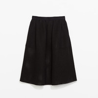 FLARED STUDIO SKIRT