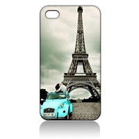 Eiffel Tower Paris Hard Plastic Case Cover Skin for iPhone 5 5s iPhone5 At&t Sprint Verizon T-Mobile