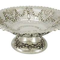 Antique English Sterling Footed Bowl