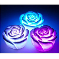 Colorful Rose LED Night Light Lamp-Cool Gadgets