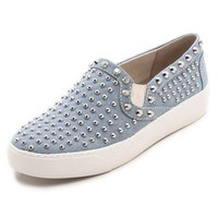 Braxton Studded Slip On Sneakers